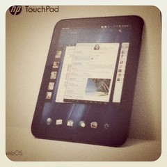 Look what I got my hands on. #hp #touchpad