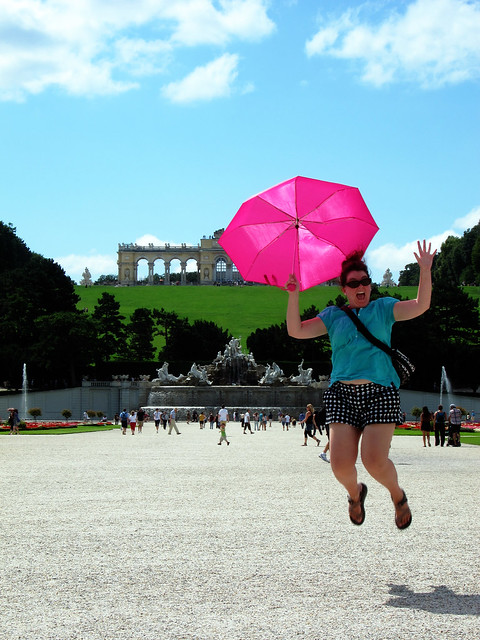 Jumping in Vienna