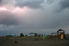 Photo by Howard Pelling (NOAA NSSL) Tags: nature weather lightning noaa nssl