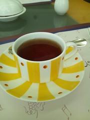 カフェトスカで紅茶をの写真