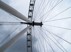 It's in the eye's (j.elemans) Tags: uk summer england london history wheel poetry poem sony londoneye historie a300 ferrywheel mygearandme mygearandmepremium mygearandmebronze dblringexcellence tplringexcellence artistoftheyearlevel3 eltringexcellence