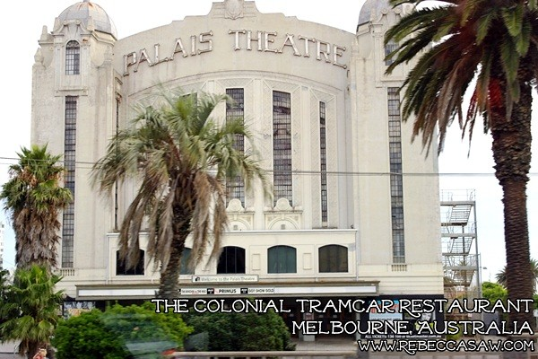 the colonial tramcar restaurant Melbourne-21