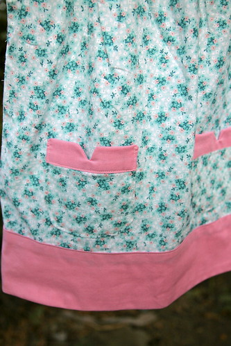 Ice Cream dress detail.
