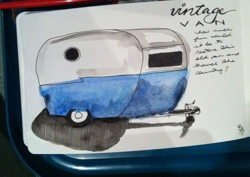 49-2011 // vintage van