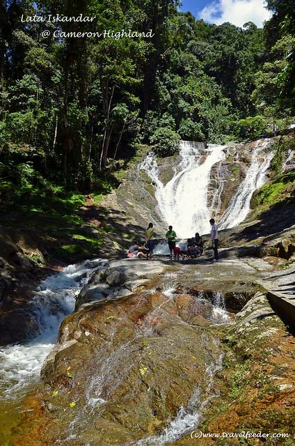 Lata Iskandar waterfall2