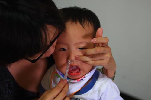 感冒鼻竇炎就要時常吸鼻子