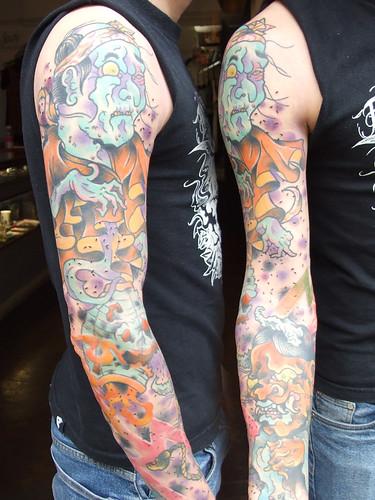Jamies sleeve