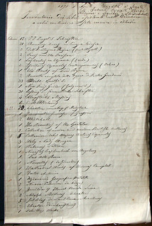 """""""Inventario dei libri"""" di di Rosa Susani, 1 aprile  1871, ALPE, Testatori, Susani Carpi Rosa"""