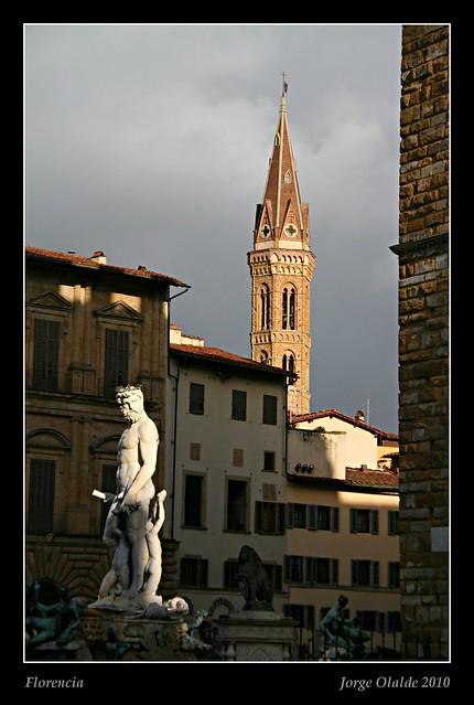 Piazza dela Signiora, Florencia
