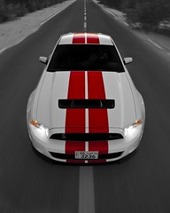 SHELBY GT500 (awadi) Tags: red white cars car sport cobra snake super shelby kuwait mustang 500 gt strips supercharger 2010 supercharged q8 gt500 supercharge awadi iawadi