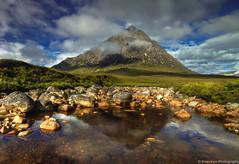 Buachaillie Etive Mor (.Brian Kerr Photography.) Tags: mountains clouds canon reflections landscape scotland highlands rocks glencoe glenetive rivercoupall eos5dmkii briankerrphotography buachaillieetivemor