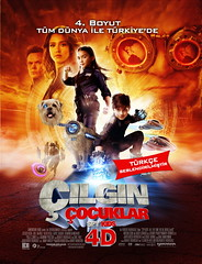 Çılgın Çocuklar 4D - Spy Kids - All The Time In The World 4D: Aroma - Scope (2011)