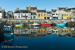Fraserburgh harbour front (w11buc) Tags: tourism reflections boats scotland aberdeenshire harbour postcard tourist zzz fraserburgh efs1022usm 5photosaday greatscot canoneos7d