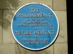 Photo of The Philharmonic, Liverpool black plaque