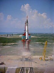 1961 ... 'Freedom 7' first Mercury flight! (x-ray delta one) Tags: freedom mercury space nasa 1961 canaveral projectmercury maninspace 7alan shepardredstonecape