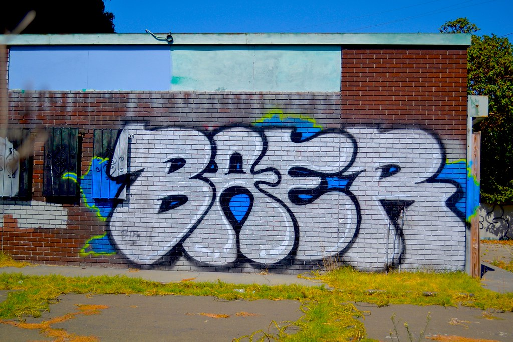 Graffiti, Street Art, Oakland, BAER
