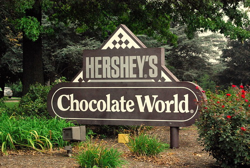 Hershey Park - Entrance