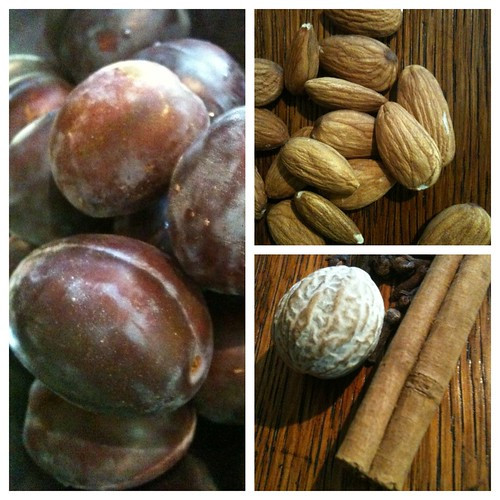 Italian Plum Cake Ingredients