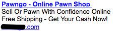 Pawn Shop - Ad #1