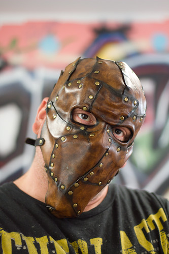 Piecemeal Handmade Leather Mask