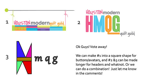 Vote for HMQG Logo! by A Blond Quilts