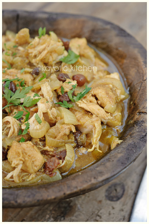 Chicken & Onion Tagine