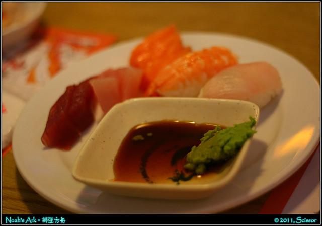 生魚片 + 握壽司