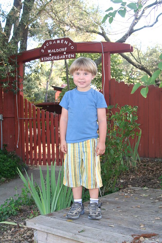 Asher, Kindergartener (Orientation Day)