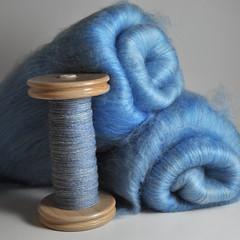 Textiles A Mano cashmere-blend batts