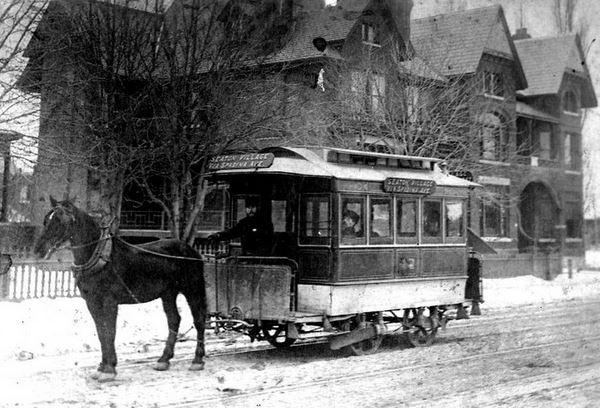Toronto Street Railway Car, 1890