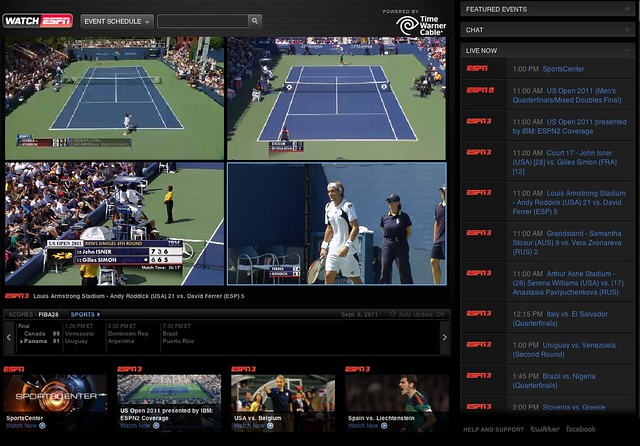 Streaming Online - WatchESPN