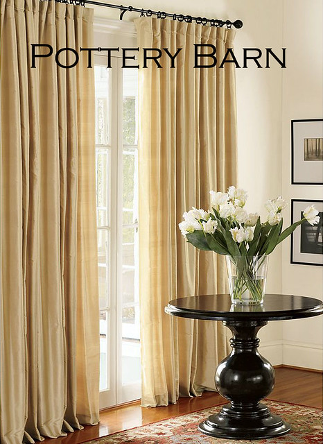Pottery Barn Drapes I wanted