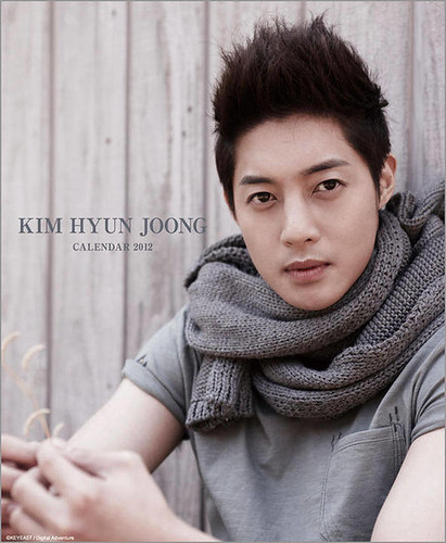 Kim Hyun Joong Japan Pre-Order 2012 Wall and Table Calendars