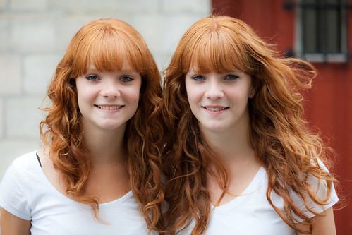 International Redhead Day 2011 - Internationale Roodharigen Dag 2011, Breda. Anne and Malou