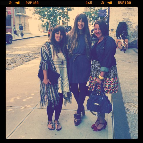 @TheSwapaholics at the @lulusdotcom brunch.#NYFW
