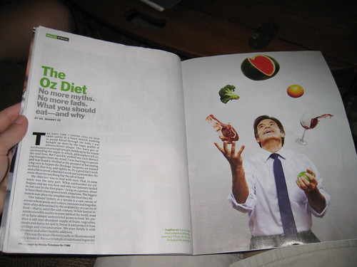 Dr. Oz article