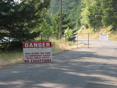 PGE is not kidding when they say KEEP OUT here