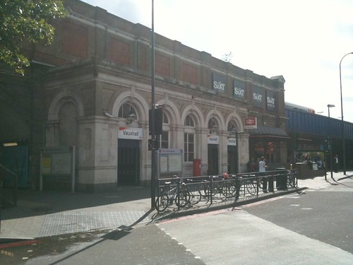 Vauxhall Station, brighter