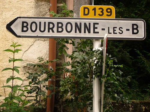 French Bourbonne Sign by Danalynn C