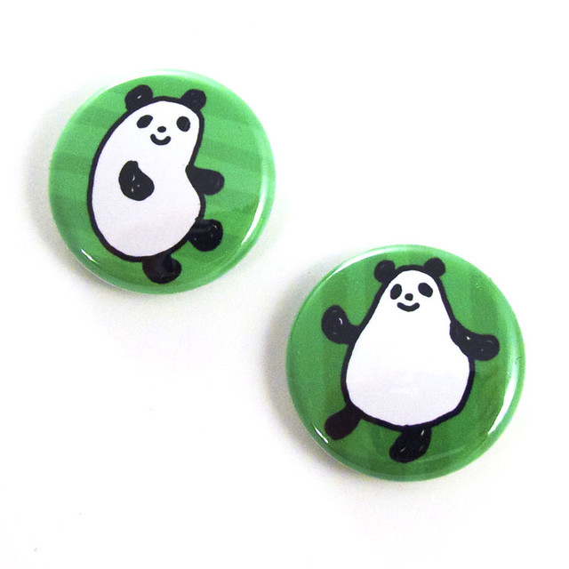 Jelly Pandas Button Set 3