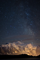 Mont-Blanc Nuit 2 - Chserys (Gimpz) Tags: sky mountains alps alpes landscape skies outdoor altitude 5d paysage moutains montblanc montagnes massif mark2 chserys