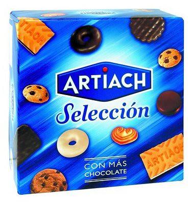 caja de galletas surtidas artiach seleccion