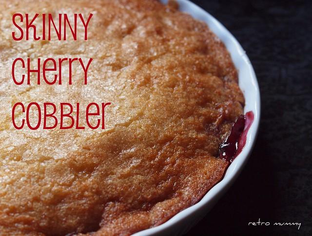 mmmmm cherry cobbler