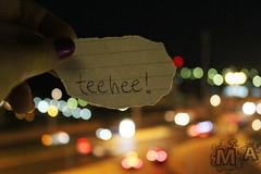 IMG_0688 (Marie JA) Tags: city night paper bokeh torn teehee