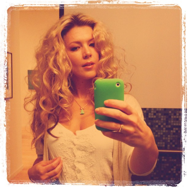 BIG curls from twisted buns (see last Instagram photo) #hair