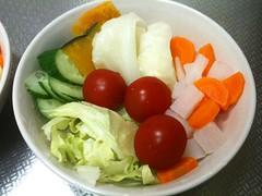 朝食サラダ(2011/9/14)