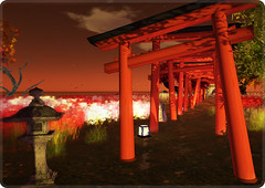 Japanese Landscape (ARGRACE) Tags: autumn landscape japanese photo sl secondlife argrace