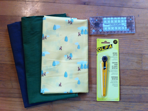 Harper's Fabrics purchases