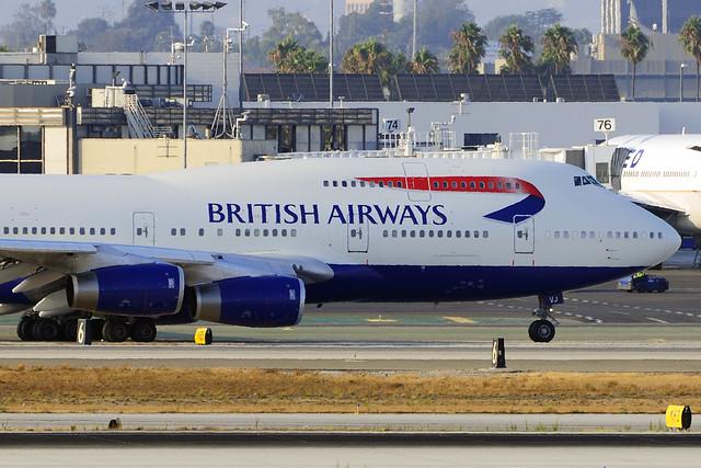 British Airways Boeing 747-436 (G-CIVJ)