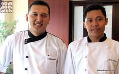Chef Deden Suherman and Chef de Partie Sulistyo